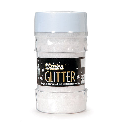 Glitter Jar - Crystal - Big Value - 4 Ounces