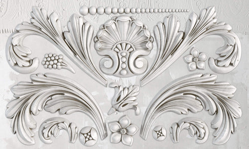 IOD Iron Orchid Decor Mould Acanthus Scroll