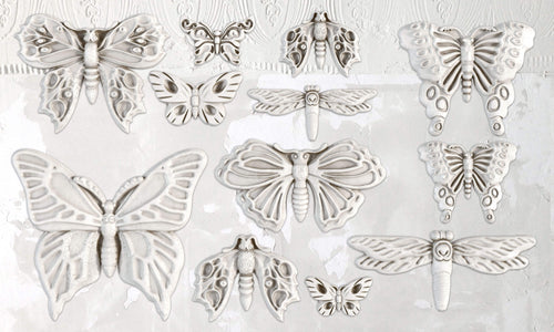IOD Iron Orchid Decor Mould, Mold Monarch Butterfly