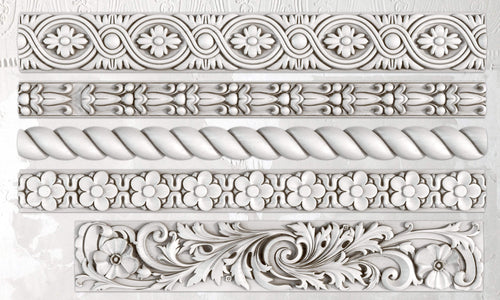 IOD Iron Orchid Decor Mould  Mold Trimmings Two 2