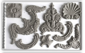 IOD Iron Orchid Designs Decor Mould, Classical Elements