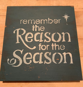 """Reason for the Season"" Sign"
