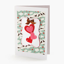Load image into Gallery viewer, Felties Felt Stickers - Printed Hearts - 66 Pieces