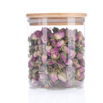 Load image into Gallery viewer, Renewing Rosebud: Floral Tisane (Glass jar)