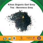 Load image into Gallery viewer, Kikos Organic Earl Grey Tea - Kikos Baroness Grey - 5 Oz