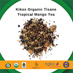Load image into Gallery viewer, Kikos Organic Tisane Tropical Mango Tea 5 Oz