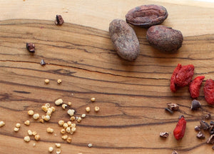 Feel Good Chocolates Cold-pressed un-roasted cacao beans