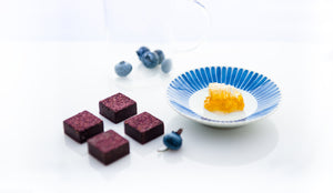 Feel Good Chocolates - Blueberry + Honeycomb Superfood Super Fruit Dark Chocolates