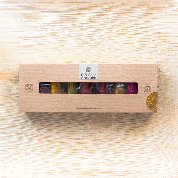 Feel Good Chocolates - Superfood Dark Chocolate Magnificent Gift Box