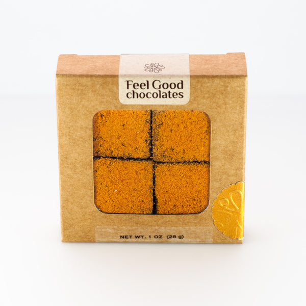 Feel Good Chocolates - Goji + Almond Superfood Dark Chocolate