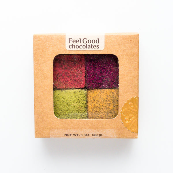 Feel Good Chocolates - Superfood Dark Chocolate Sampler