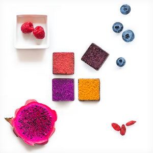 Feel Good Chocolates - Super Fruits Dark Chocolate Sampler