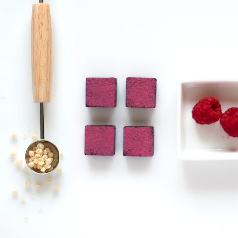 Feel Good Chocolates - Raspberry + Quinoa Superfood Dark Chocolate Bites