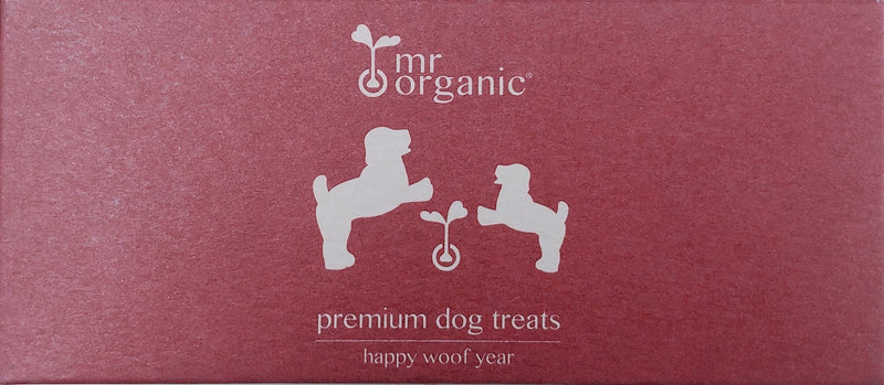 happy woof year treats 50g - mrorganic