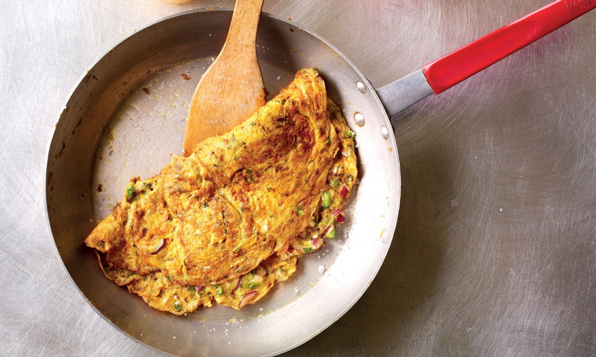 Herbal Infused American Style Omelette