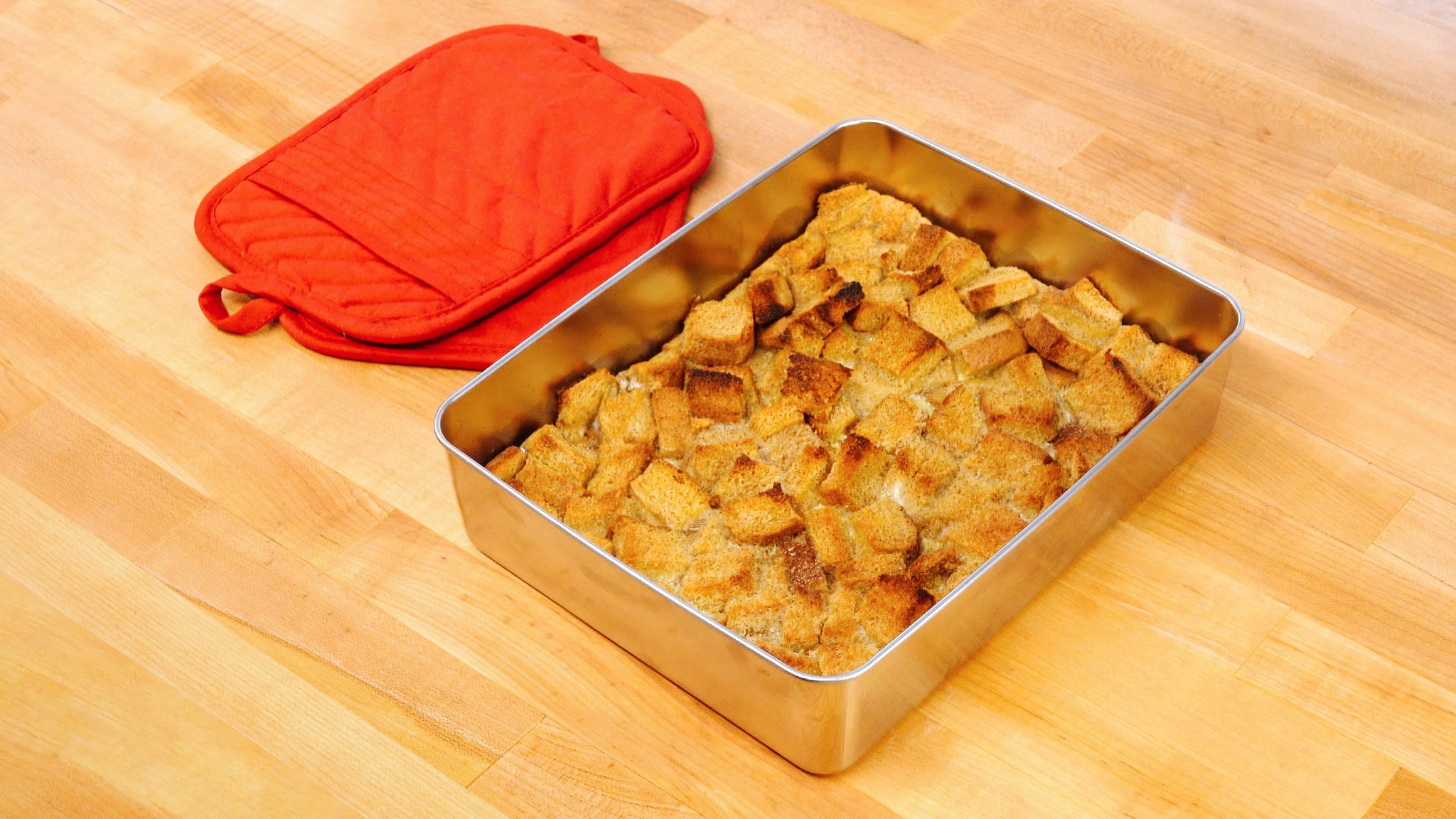 Herbal  Infused Bread Pudding