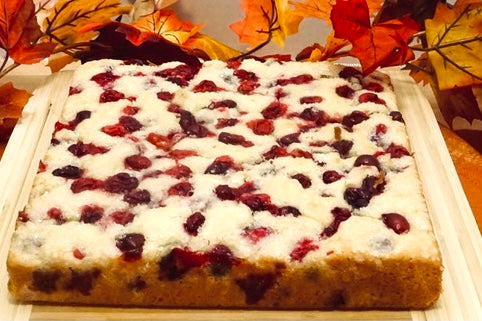 Herbal Infused Cranberry Cake