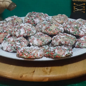 Herbal Infused Gooey Christmas Butter Cookies
