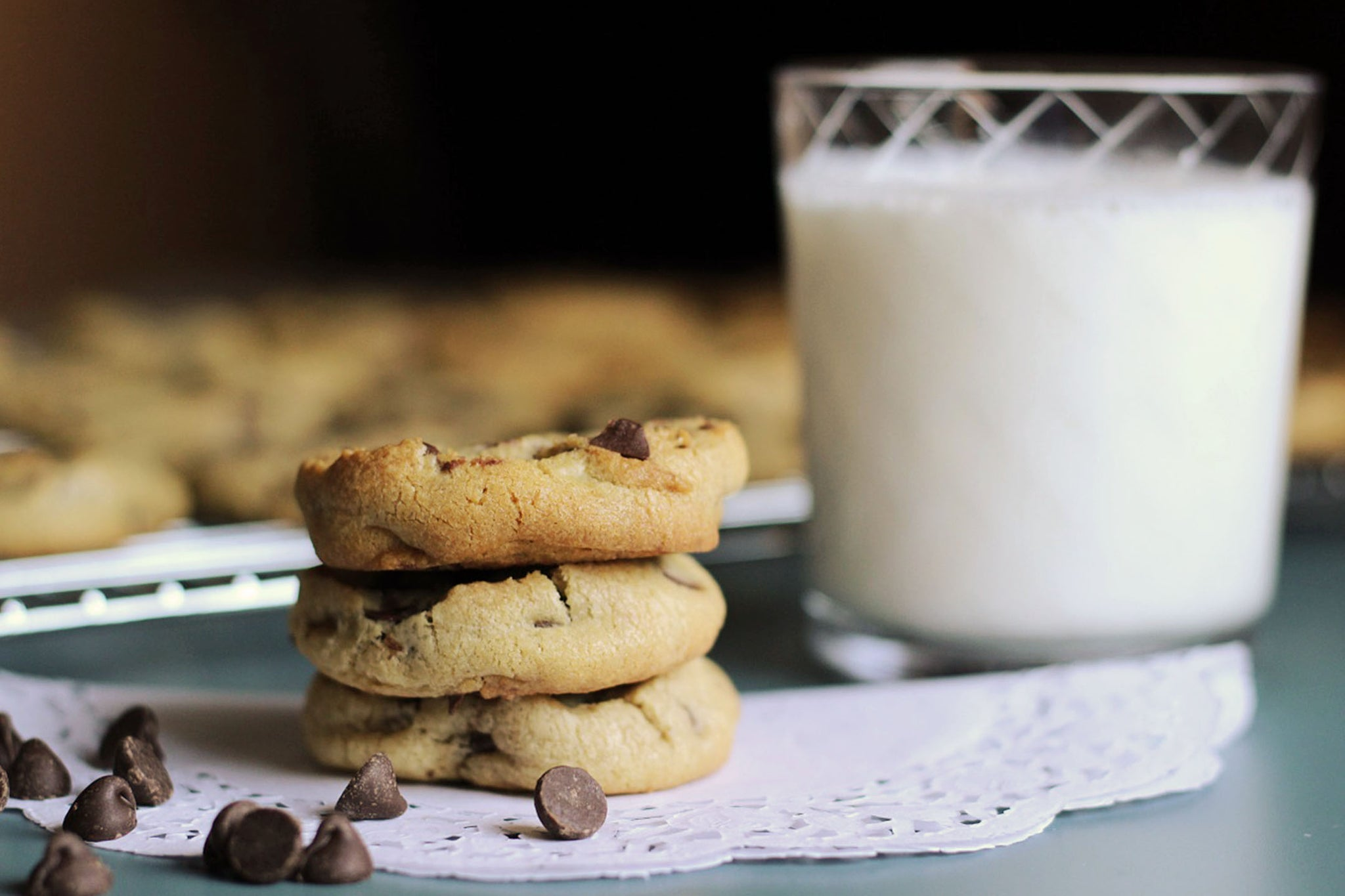 Herbal Infused Chocolate Chip Cookies from Scratch