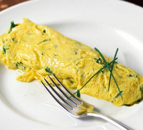 Herbal Infused French Omelette