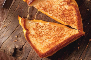 Herbal Infused Grilled Cheese