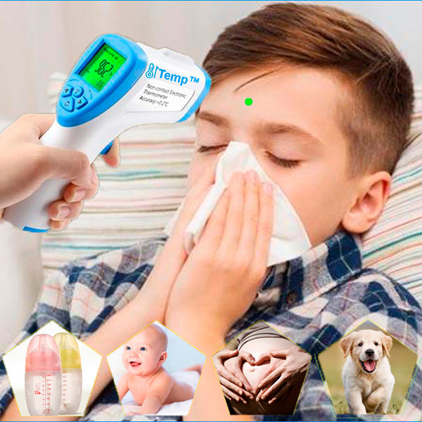Temp™ Digital Infrared Forehead and Ear Thermometer