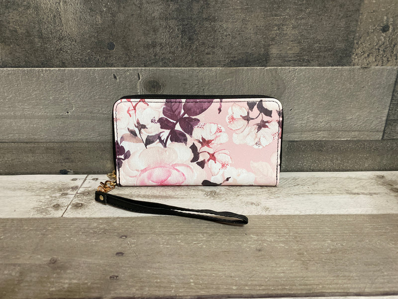 Floral wallets