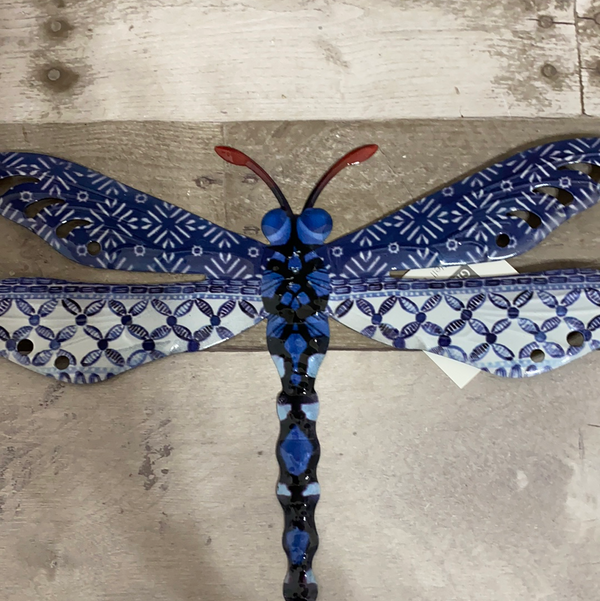 Dragonfly metal art
