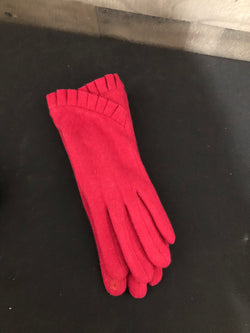 Fur lined gloves