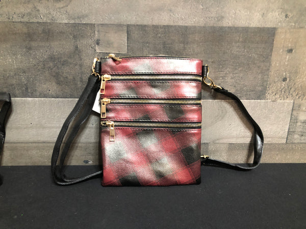 Plaid Crossbody purse