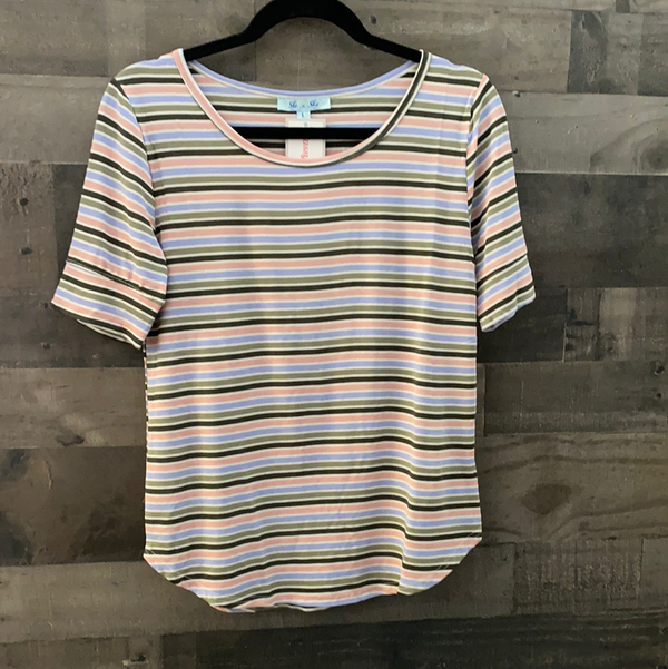 Striped for you top