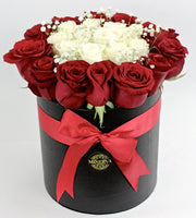 MANHATTAN  BOX WITH ROSES
