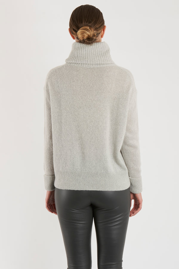 THICK ROLL NECK-MIST
