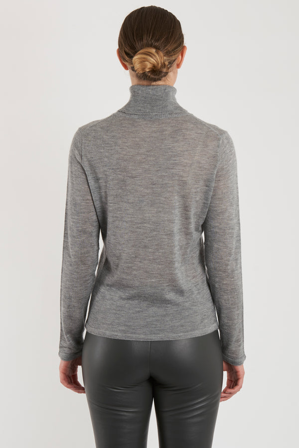THIN TURTLE NECK - MISTRAL