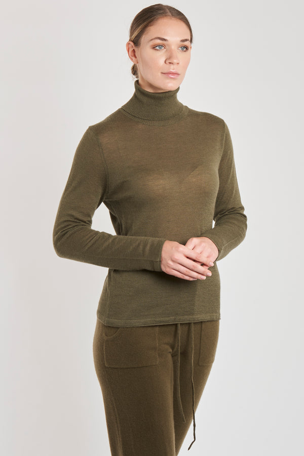 THIN TURTLE NECK-MOSS