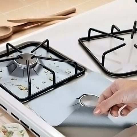 4 PACKS - LONG LASTING STOVE PROTECTOR ( BUY 2 & GET 10%, BUY 3 & GET 15%, BUY 4 & GET 20% )