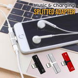 Music & Charging Splitted Adapter ( BUY 2 FREE 1, BUY 3 FREE 2 )