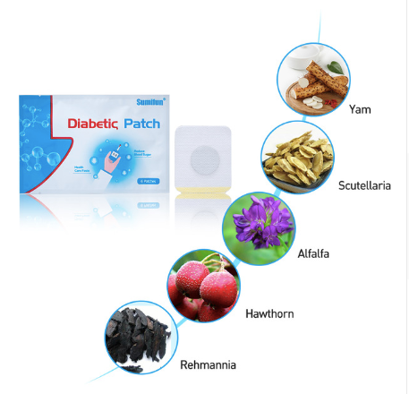 Diabex Natural Herbal Patch ( 6 PCS PER SET, BUY 2 SET GET 1 FREE, BUY 3 SET GET 2 FREE! )
