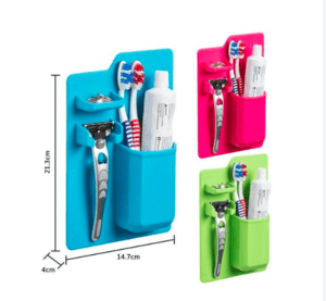 Silicone Bathroom Storage Organizer Set