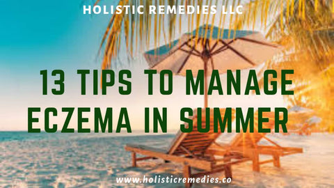 13 tips to help you manage eczema in summer