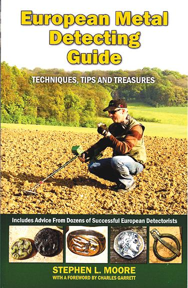 BOOK, EUROPEAN METAL DETECTING GUIDE