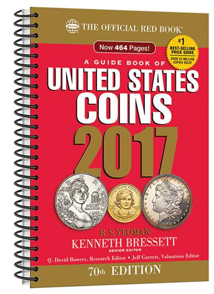 BOOK, 2017 Official Red Book of United States Coins