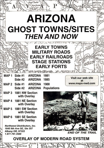 AZ. GHOST TOWN SITES THEN & NOW