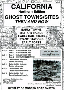 BOOK, N. CA. GHOST TOWN SITES THEN & NOW