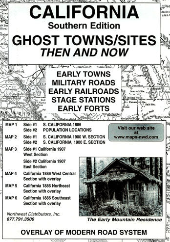 BOOK, S. CA. GHOST TOWN SITES THEN & NOW
