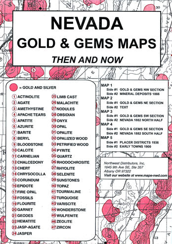 BOOK, NV. GOLD & GEMS THEN & NOW