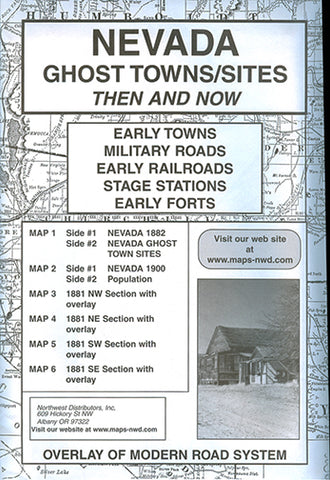BOOK, NV. GHOST TOWN SITES THEN & NOW