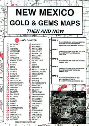 BOOK, NM. GOLD & GEMS THEN & NOW