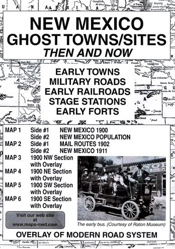 BOOK, NM. GHOST TOWN SITES THEN & NOW