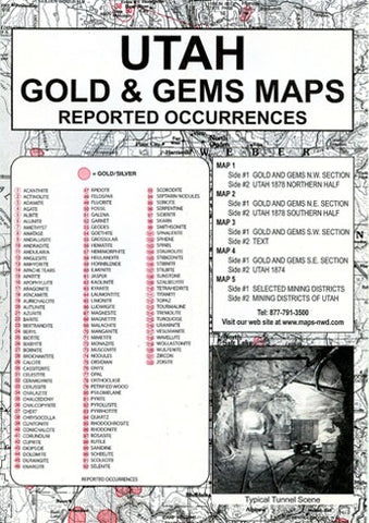 BOOK, UT. GOLD & GEMS THEN & NOW
